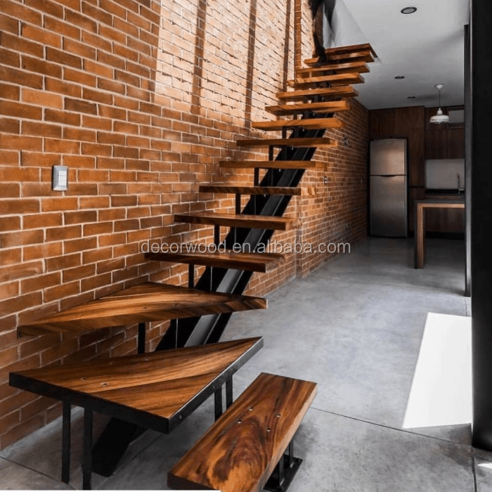 High Quality Custom Made Solid Wood Stair Tread View Wood Stair | Solid Wood Stair Treads | Stairway | Commercial | Standard Length 48 | Domestic Timber Stair | Stainless Steel Anti Slip Stair