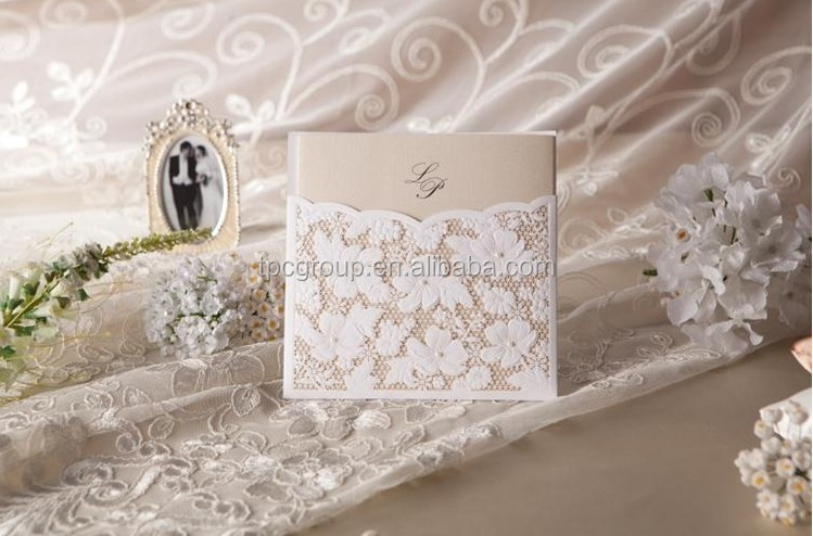 Lace Wedding Invitations Supplieranufacturers At Alibaba