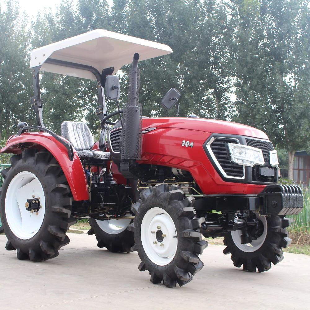 Chargeur Frontal Mini Tracteur De Jardin Avec Gazon Pneu