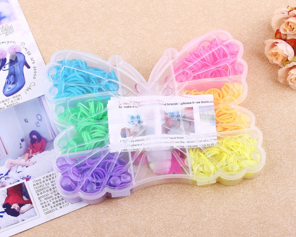 Dragonfly Box Kit 600pcs Loom Bands Buy Best Rubber Band