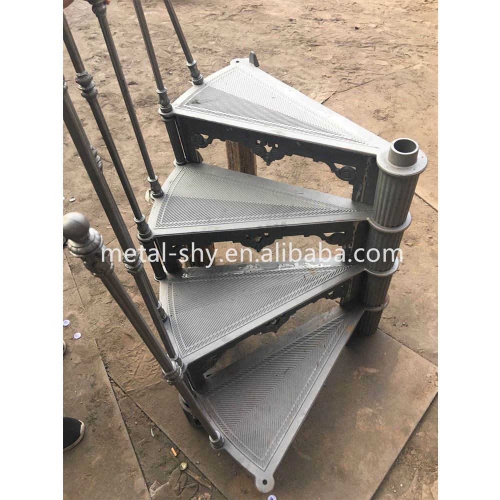 Hot Sale Cast Iron Spiral Stair Parts Used Spiral Staircase | Used Metal Spiral Staircase For Sale | Stair Parts | Cast Iron | Foshan Demose | Wrought Iron | Stair Case