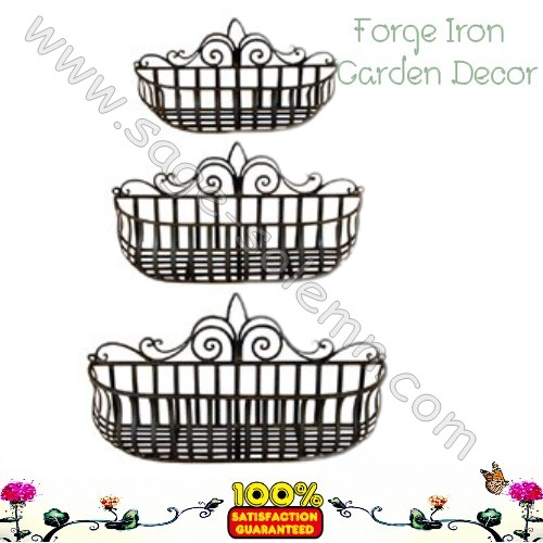 2mm Thick Decorating Metal Box Garden Planter Decorative Window Planters Vertical
