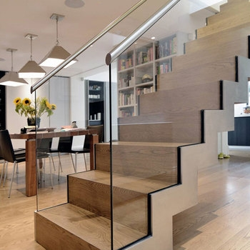 Modern Wooden Staircase Designs For Homes | Simple Staircase Designs For Homes | Stylish | Staircase Woodwork | Living Room | Easy | White