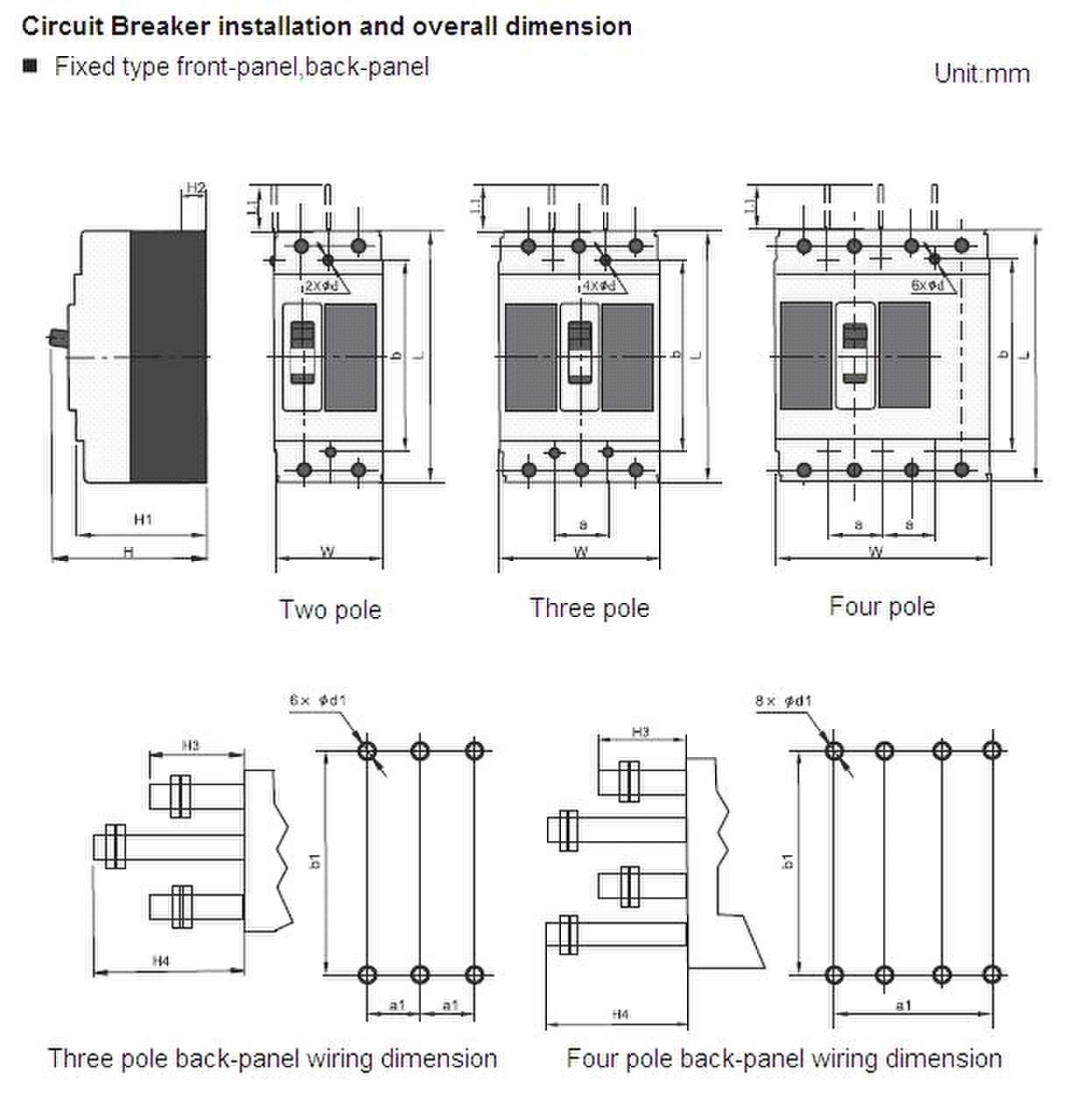 Reliable Circuit Protector Acb Mccb And Mcb Circuit