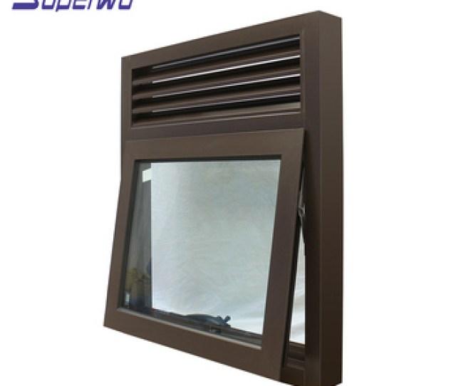 Aluminum Window Extrusion Profile Sound Proof Awning Windows Philippines