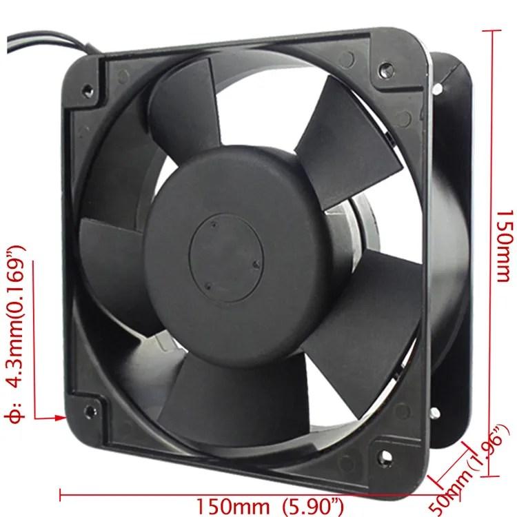 factory supplying high speed exhaust fan 6 inch 150x150x50mm 110v 220volt 380v 150mm cooling cabinet fan buy exhaust fan 6 inch cabinet fan fan 220v