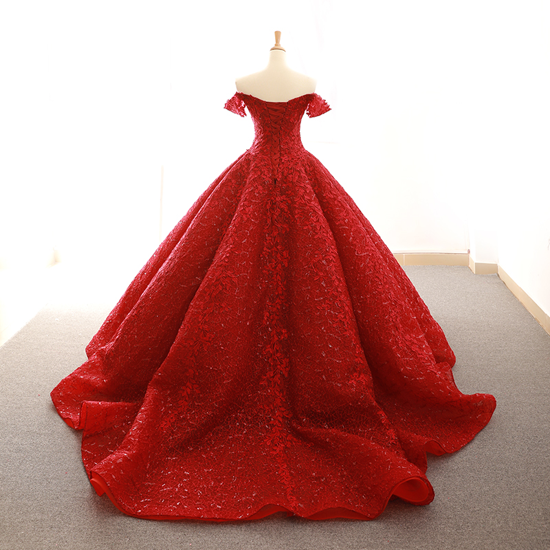 Red Prom Dress 2018 Ball Gown Vestidos De 15 Anos Birthday Bridal Party Sweet 16 Dresses Lace Floral Buy Prom Dress 2018 Quinceanera Dresses Ball Gown Prom Dress Product On Alibaba Com