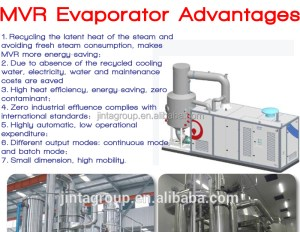 MVR vacuum evaporator salt crystallization and concentration, View waste liquid concentration