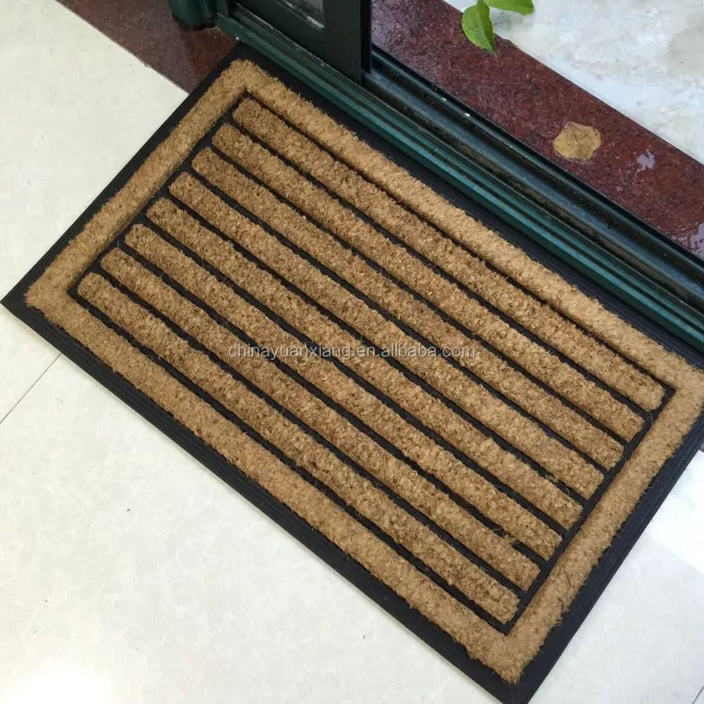 tapis coco en caoutchouc pour essuie glace brosse d entree pour walmart goal aldi lyeron merlin buy caoutchouc tapis de coco tapis en
