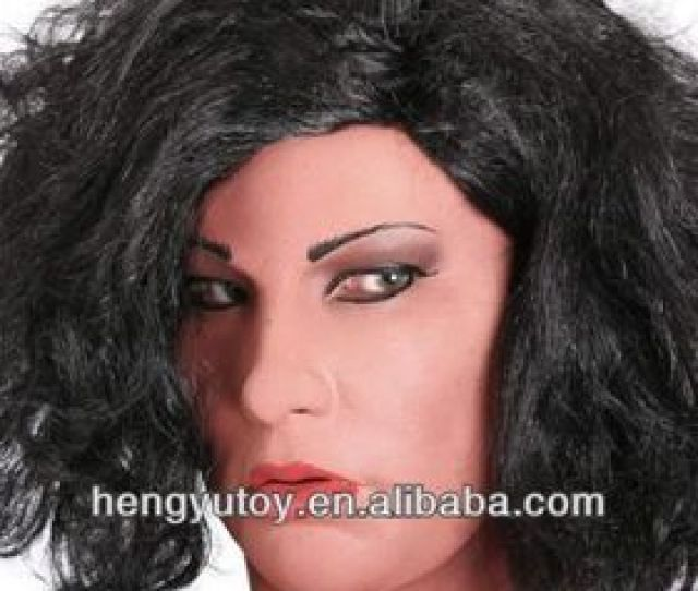 Latex Mask Female Woman Sissy Maid Transgender Crossdressing For Tv Ts
