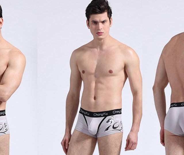 Sexy Teen Boys In Transparent Mesh Boxer Boys Bikini Briefs