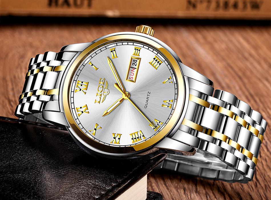 HTB1C.K9f9 I8KJjy0Foq6yFnVXa4 LIGE Watch Men Fashion Sports Quartz Full Steel Gold Business Mens Watches Top Brand Luxury Waterproof Watch Relogio Masculino