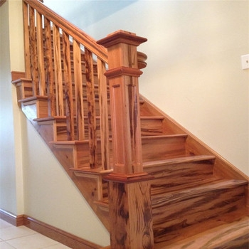 Modern House Used Straight Wooden Stairs With Laminate Treads | Wooden Staircases For Sale | Cheap | Steel | Landing | House | New Model