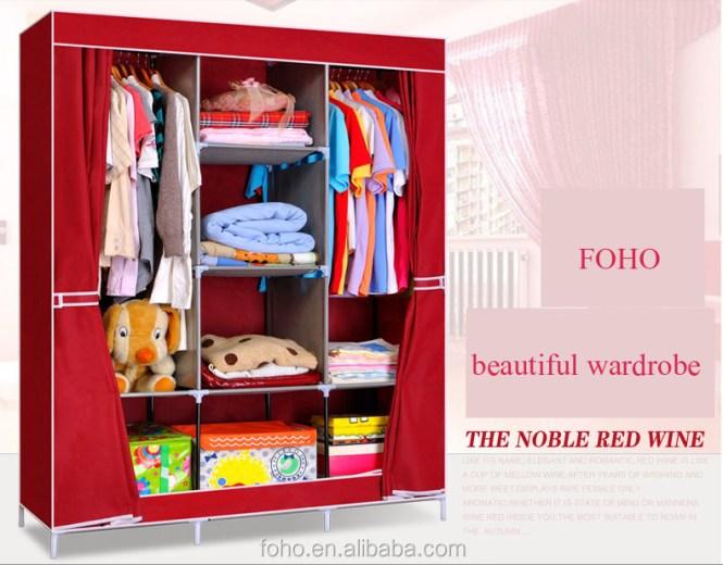 Diy Fancy Portable Wardrobe Online India Bedroom Set Fh Cm0505