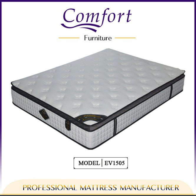 Royal Comfort Mattress Chinese Import With Rolled Up Ng Ev1505