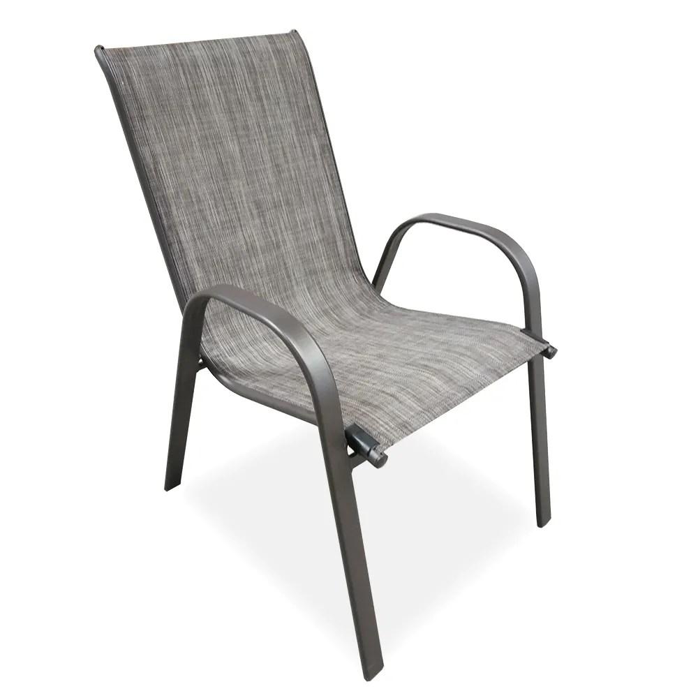 outdoor cheap modern metal steel iron sling textilener teslin stackable stacking arm terrace bistro patio chairs garden chair buy metal garden