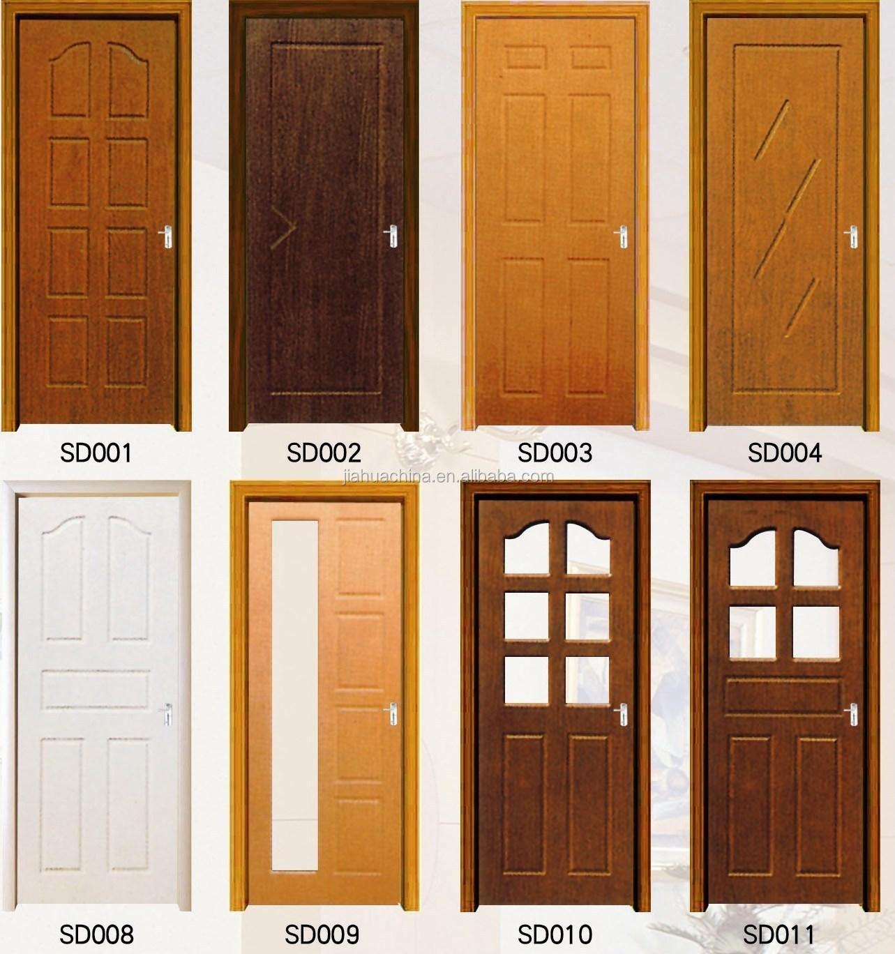 Most Popular Simple Design Wood Panel Door Design Made In
