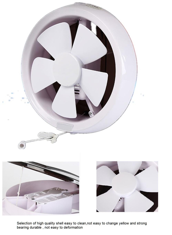 6 inch mini bathroom round exhaust fan ventilation with switch control to iraq oman dubai buy bathroom exhaust fan exhaust fan 6 inch mini exhaust