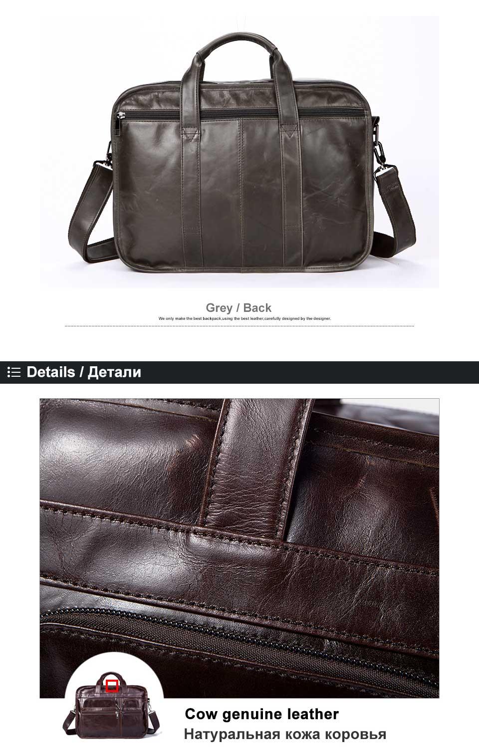 HTB1F7W.g3DD8KJjy0Fdq6AjvXXac WESTAL men's genuine leather bag for men's briefcase office bags for men leather laptop bag document business briefcase handbag