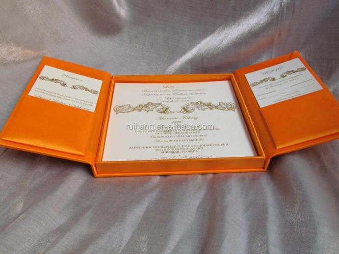 High End Couture Wedding Invitation In A Box