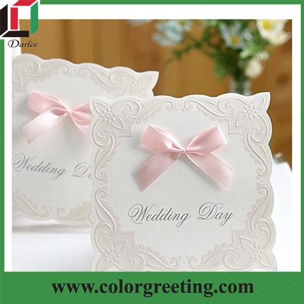 Putih Mewah Kartu Undangan Pernikahan Tas Lipat Murah Kartu Undangan