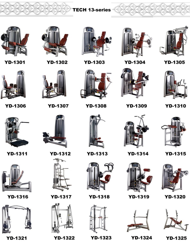 Workout Machines Names Routines