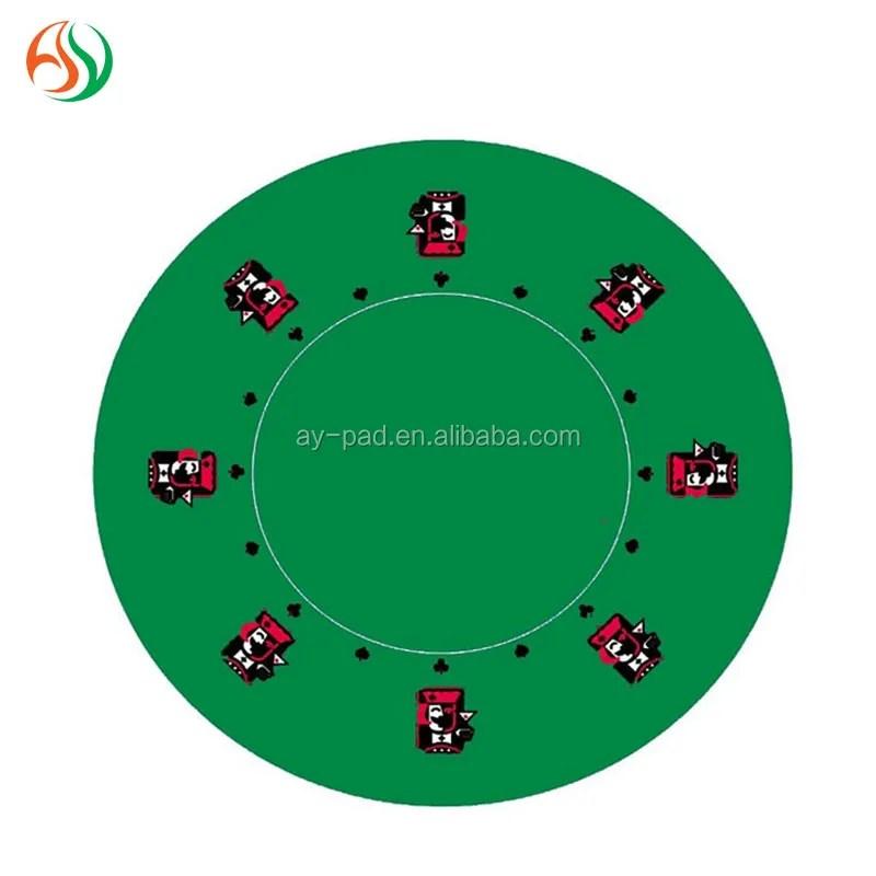 ay de style casino poker tapis de jeu blackjack disposition feutre de table meilleure carte a jouer commerce assurance vert poker en caoutchouc tapis