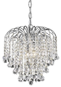 Elegant Design Basket Shape K9 Crystal Chandelier For Hotel Or Home