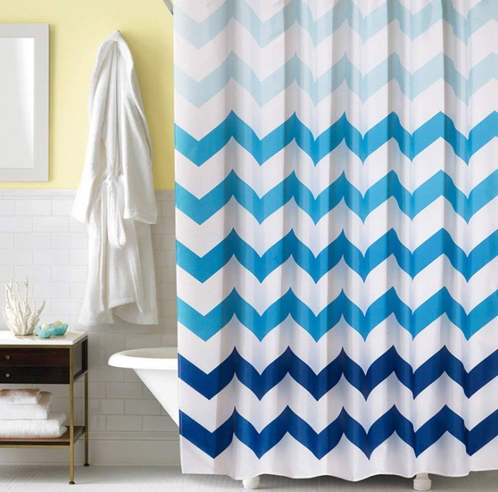 cheap dark blue shower curtain find
