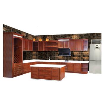Almari Modern Aluminum Kitchen Cabinet With Sink In Foshan ...