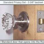 Very Affordable Fluted Crystal Glass Passage Door Knob Sets For Modern Doors Polished Brass Includes Our Original Wood Adapters To Install In Modern Pre Drilled Doors Door Knobs