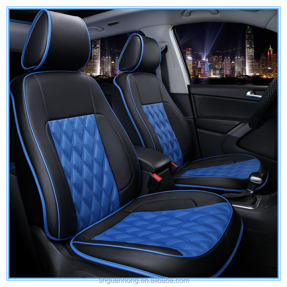 Luxury Leather Auto Car Seat Cover Design Comfortable