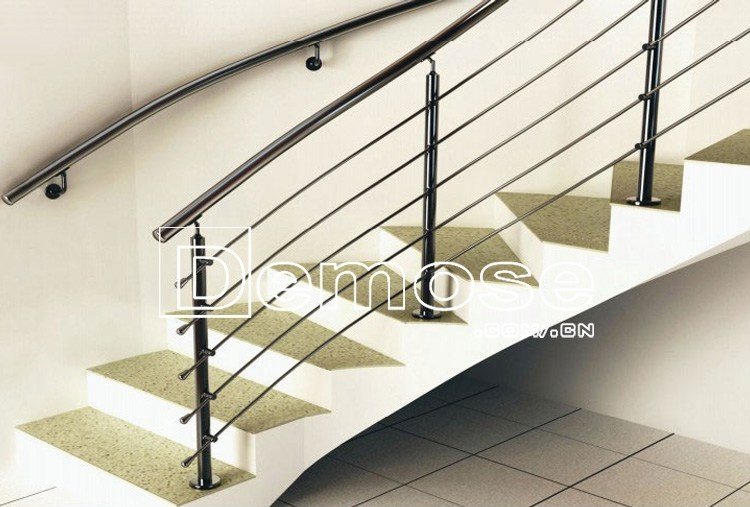 Design Stainless Steel Stair Railing Post Pole Baluster Buy | Stainless Steel Baluster Designs | Balcony Steel Pipe | Catalogue | Ms Boundary Gate | House Staircase Steel Railing | Magandang