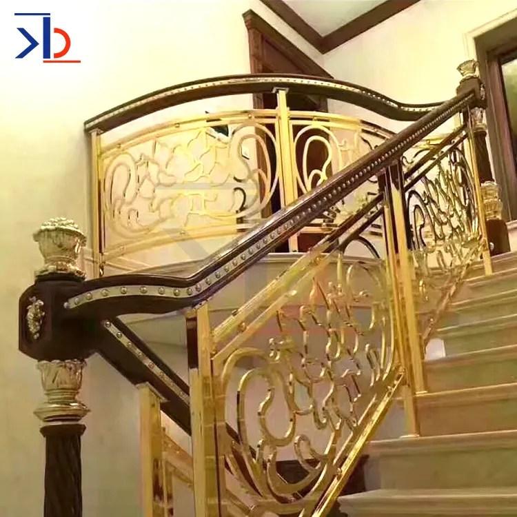 Brushed Stainless Steel Stair Handrail Design Modern Metal Stair   Modern Stair Railings Interior   Minimalist   Luxury   Straight   Wall Mounted   Brushed Nickel