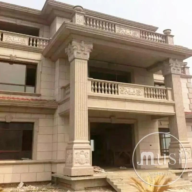 colonnes en pierre pour interieur de maison grande taille decoration exterieure buy colonnes de pierre interieures colonnes de pierre exterieures de