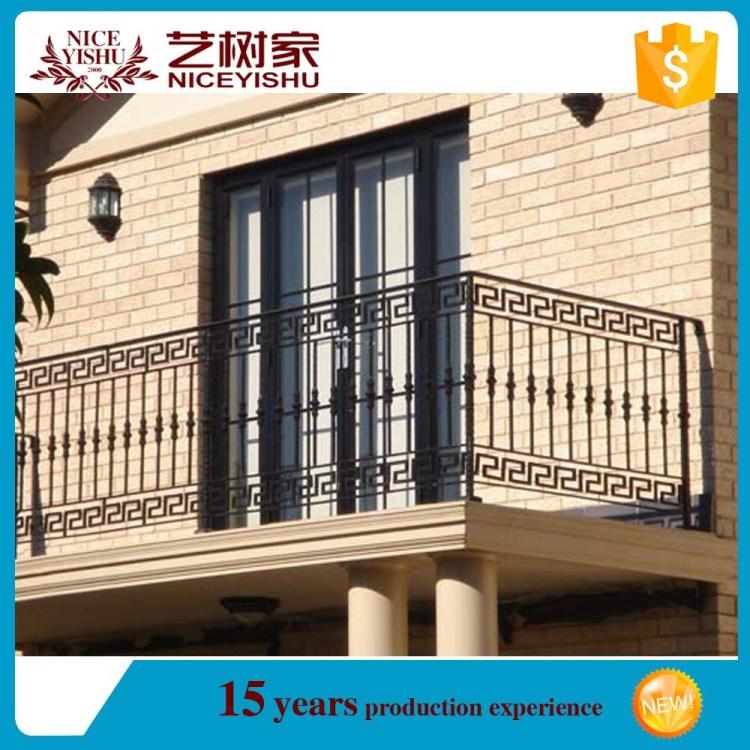 Modern Balcony Baluster Design