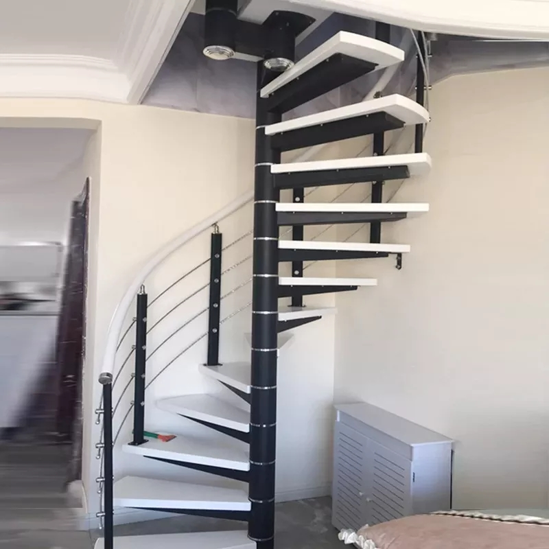 Dl Top Sale Indoor Spiral Staircase Kits Spiral Staircases Used   Metal Staircase For Sale   Prefab   Outdoor   Contemporary   Tangga   Steel Structure