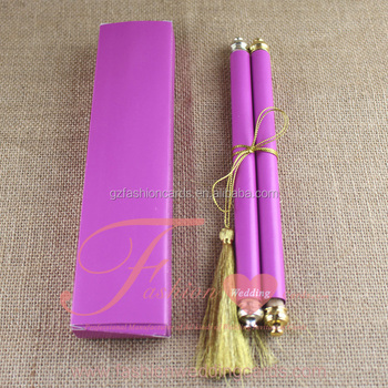 Special Purple Scroll Wedding Invite Card Design Marathi Matter