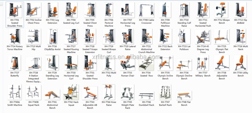 Workout Machines Names Yourviewsite Co