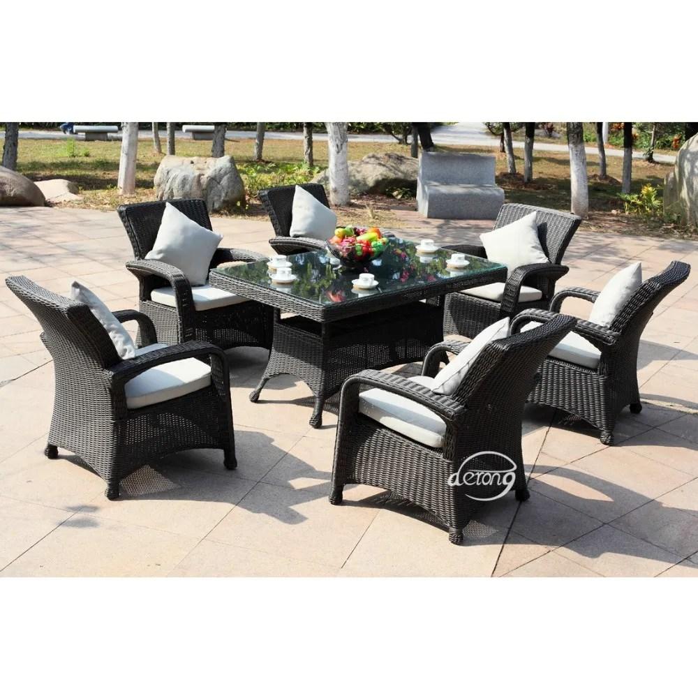 wicker rattan furniture set rattan garden furniture sale rattan patio furniture outdoor table and chair set buy pe rattan outdoor table and chair