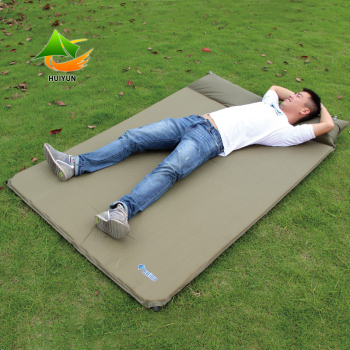 Portable Camping Tent Pad Foldable Inflatable Mattress For 2 Person