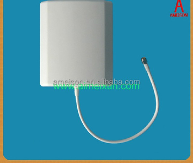 Antenna Manufacturer Outdoor Indoor 5  Dbi High Gain Directional Panel Patch Wifi Transmission Antenna Buy Wifi Transmission Antenna10db Wifi
