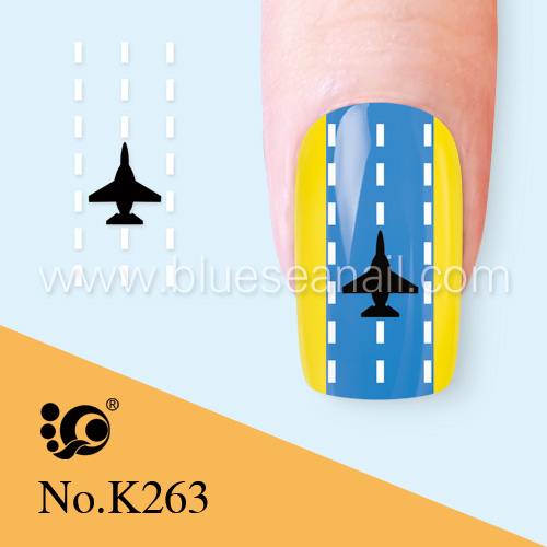 Aircraft Nail Art Stickers Water Decals World On Alibaba