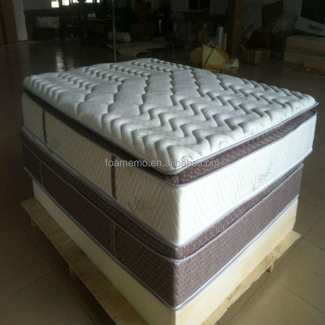 Sleep Better Bamboo Pocket Spring Mattress Vacuum Rollable Ng