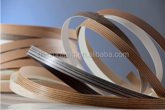 Furniture Abs Wood Color Edging Plastic Flexible Edge