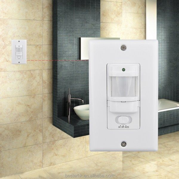 Electric Motion Sensor Light Switch Home Occupancy Sensor Switch     BS033C BS033C 033c
