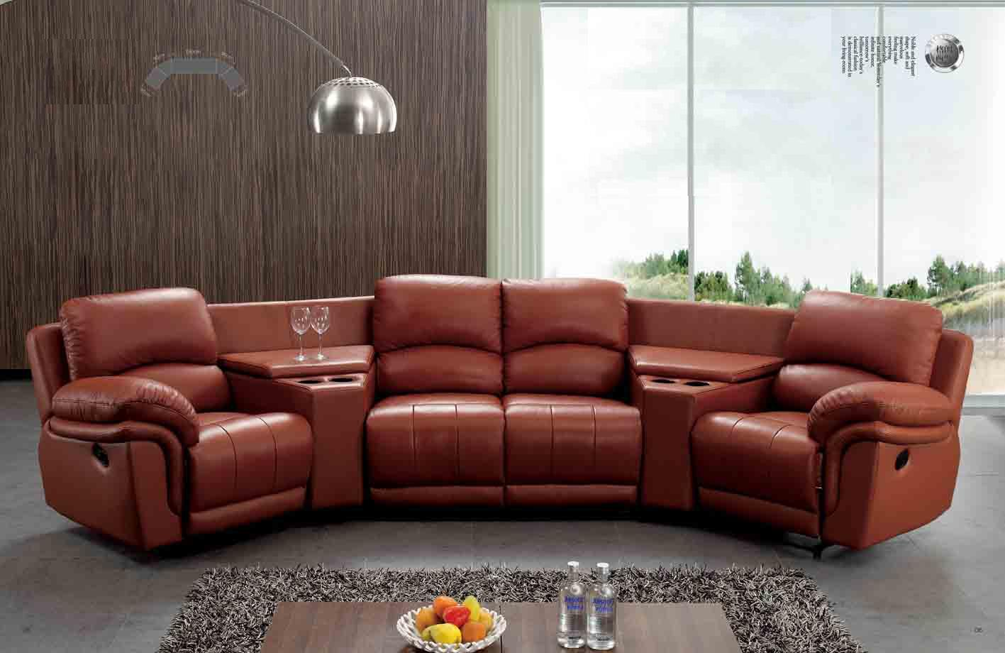 2016 Contemporary Leather Corner Recliner Sofa With 2 Cup Holders Ls607 Buy Italy Leather Recliner Sofa Yellow Leather Recliner Sofa Chesterfield
