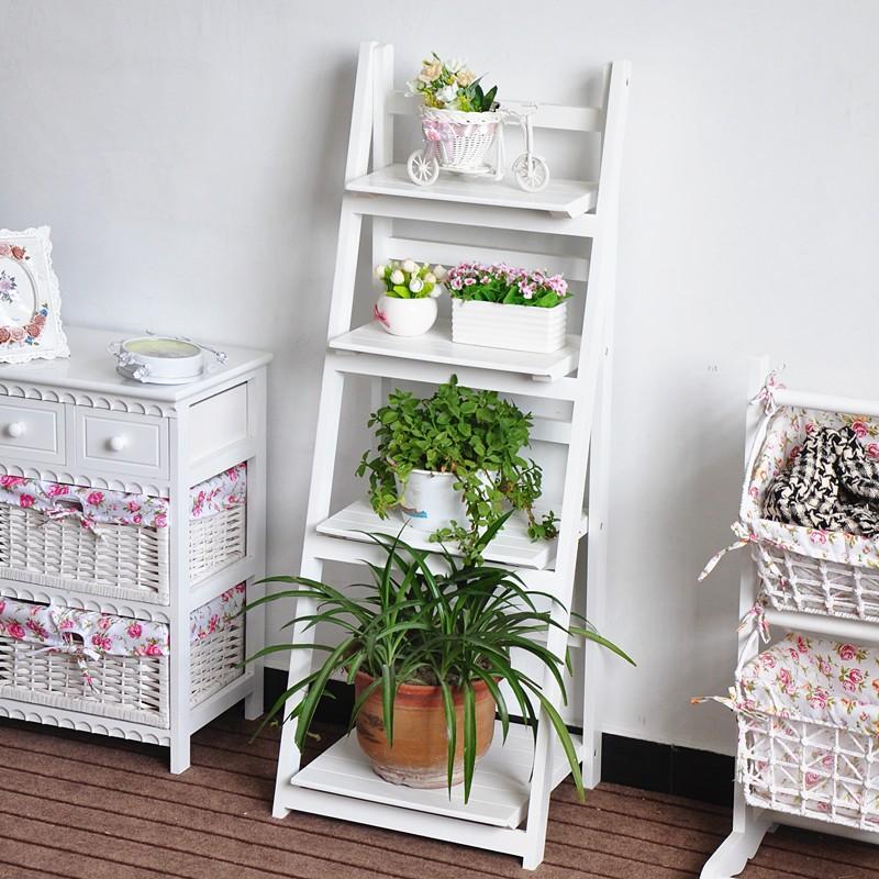 support de plantes pliable en bois decoration a la mode avec quatre etageres pot de fleurs en bois buy etagere autoportante en bois etagere en bois