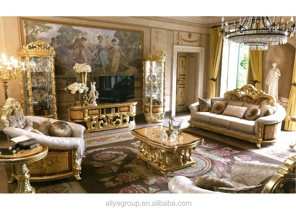 Gdm022 Luxury Living Room Show Pieces For Home Decoration Classical