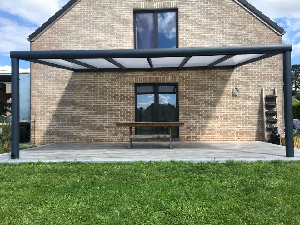 modern aluminium roofing for patio